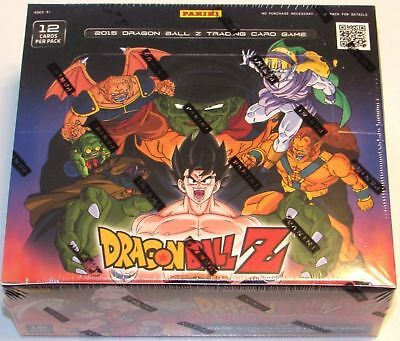 panini dragon ball z movie collection trading cards factory sealed box 24 pack