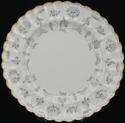 Spode Colonel Gray Gold Trim Y7144 Dinner Plate