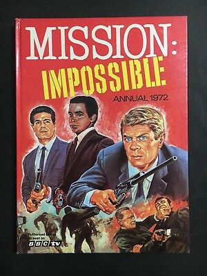Mission Impossible T.v Annual From 1972, 79 Pages