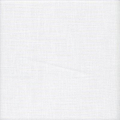 28 count Zweigart Trento Evenweave Cross Stitch Fabric Fat Quarter White 49x89cm
