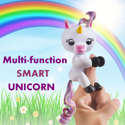 Smart Fingerlings Interactive Baby Unicorn/ Panda Toy Gigi 7 Functions Kids Gift
