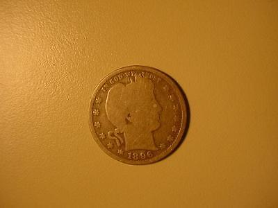 1896-S Silver Barber Quarter Wow