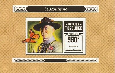 Togo  6965 - 2015 SCOUTING #1  imperf deluxe shee unmounted