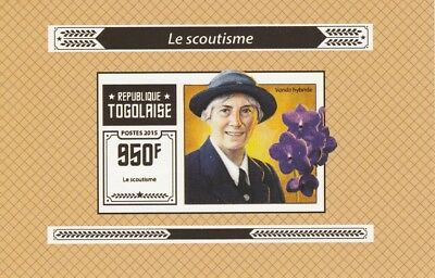 Togo  6968  - 2015 SCOUTING #4  imperf deluxe shee unmounted