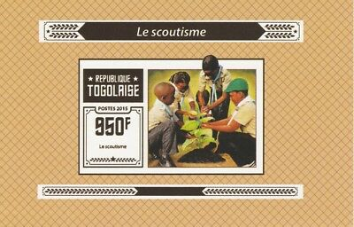 Togo  6969  - 2015 SCOUTING #5  imperf deluxe shee unmounted