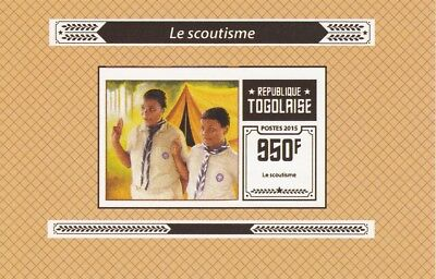 Togo  6970  - 2015 SCOUTING #6  imperf deluxe shee unmounted
