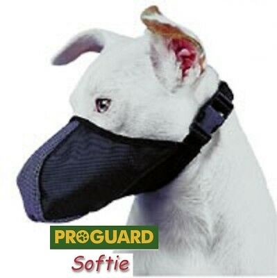 SOFTIE DOG MUZZLE XS-Yorkie,Chihuaua,Toy Poodle,Maltese*Mini Dogs Under 9 lbs