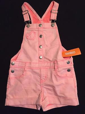 NWT Gymboree Girls Pink Shorts Overalls Size 4 5 6 7 & 8