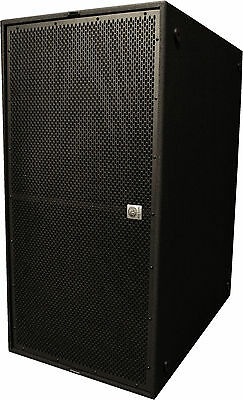 "BS1000 dual 18"" 1400Watts RMS passive bandpass concert subwoofer"