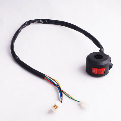 8 Wire Chinese Atv Mini Quad Left Side Control Switch for Baja Sunl Tank Roketa