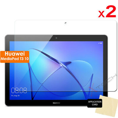 """2 Pack of CLEAR Screen Protector Covers for Huawei MediaPad T3 10 9.6"""" Tablet"""