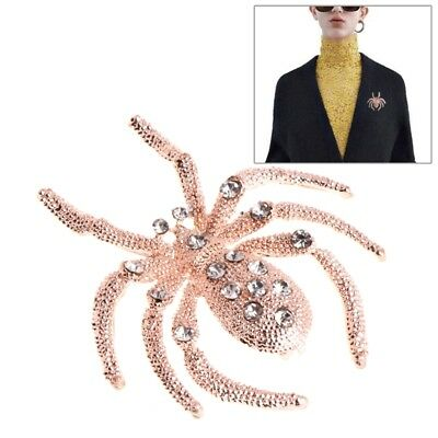 Wedding Bridal Rhinestone Brooches Women Pins Unique Spider Alloy Jewelry Gifts