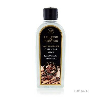 Ashleigh & Burwood ORIENTAL SPICE Fragrance Lamp Oil 500ml Refill Bottle NEW