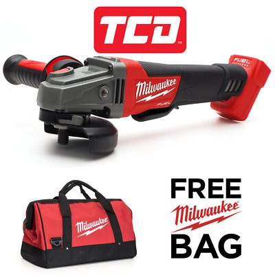 Milwaukee M18 Fuel M18CAG115XPD-0 115mm Angle Grinder 18v Body Only - with Bag