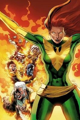 Phoenix Resurrection Return Jean Grey #1 1:100 Yu Green Costume Variant