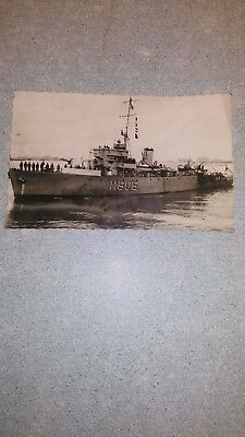 "Ancienne carte postale photo "" Force navale"""