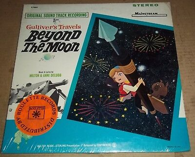 Milton & Anne Delugg GULLIVER'S TRAVELS BEYOND THE MOON  Mainstream S/400 SEALED