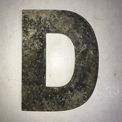 Vintage Marquee Theater Letter D Wagner Sign Service 8 Inch Antique D19