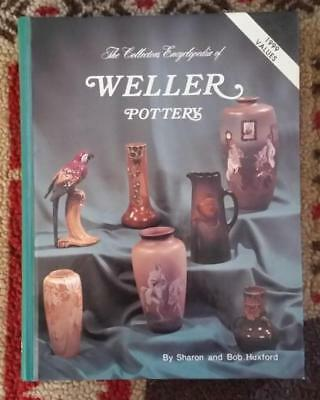 BOOK HC - The Collectors Encyclopedia of WELLER POTTERY by Sharon & Bob Huxford