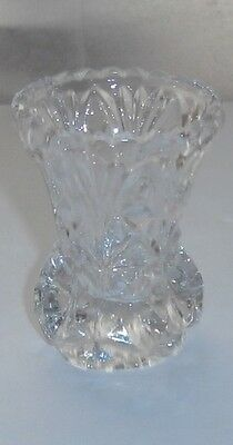 Vintage Glass Toothpick Holder Vase Great Condition 3 Inch