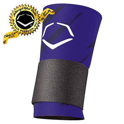 EvoShield Speed Stripe Royal Blue Compression Wrist Sleeve With Strap
