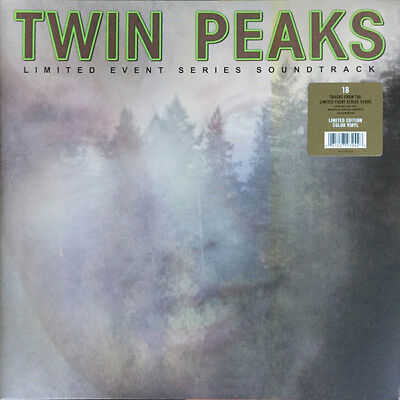 TWIN PEAKS Limited Event Series Soundtrack LP Green Indies Only Vinyl NEW 2017