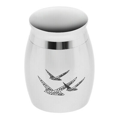 Stainless Steel Urn Cremation Keepsake Ashes Funeral Human Memorial Classic Jar