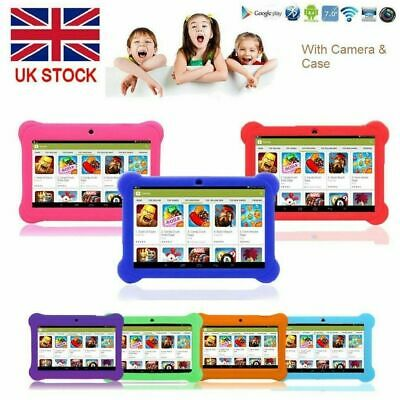 "Latest 7"" INCH KIDS ANDROID 4.4 TABLET PC QUAD CORE WITH WIFI CAMERA AND GAMES"