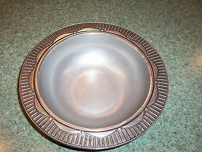 """Very Nice & HEAVY Art Deco Style Bowl by the WILTON Co.(approx. 11 5/8"""" in dia.)"""