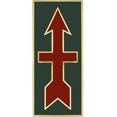 ARMY COMBAT SERVICE ID Identification Badge 18th Fire