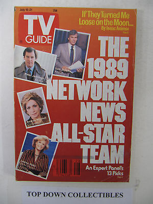 TV Guide  July 15-21  1989   The 1989 Network News All-Star Team