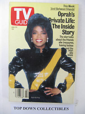 TV Guide    June 3-9  1989   Oprah's Private Life: The Inside Story
