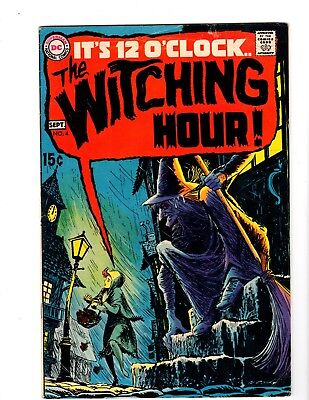 THE WITCHING HOUR #4 VG/FI (1969) (Toth Art)