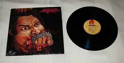 ANTHRAX : Fistful Of Metal, Rare UK 1st Press Vinyl LP 1984 Music For Nations
