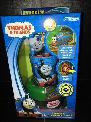 Thomas The Tank Engine Toothbrush Timer With Toothbrush Beaker & Toothpaste. New