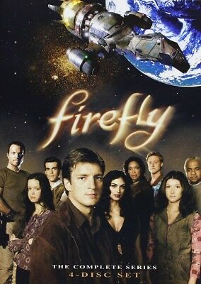 Firefly The Complete Series DVD 2009 4-Disc Set Nathan Fillion, Gina Torres RARE