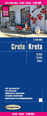 Reise Know-How Landkarte Kreta 1 : 140.000,