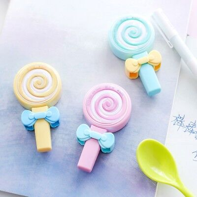 1Pcs Lovely Kawaii Candy lollipop Shape Correction Tape School Office Supplies