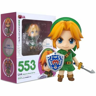 Good Smile Nendoroid The Legend of Zelda Link Majora's Mask 3D Figure Toy Gift