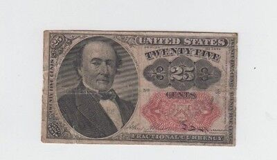 Fractional Currency Civil War Era Item one note fine stains and tears