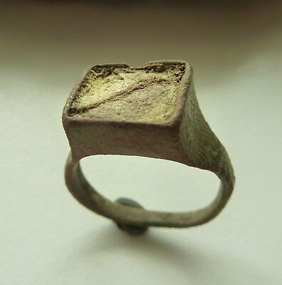Old bronze ring with  insert (556).