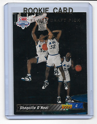 1992 1993 Upper Deck Shaq Shaquille Oneal Rookie Trade Card