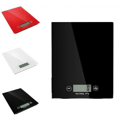 5kg Black/White Digital LCD Electronic Kitchen Cooking Food Weighing Scales