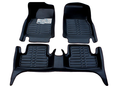 For Toyota Highlander 2008-2013 Car Floor Mats Liner Front Rear carpet Mat FLY5D