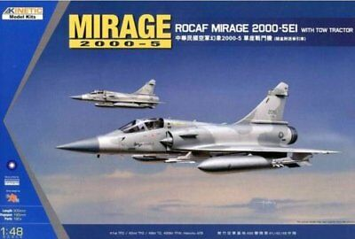 KINETIC K48045 1/48 ROCAF Mirage 2000-5Ei with Tow Tractor