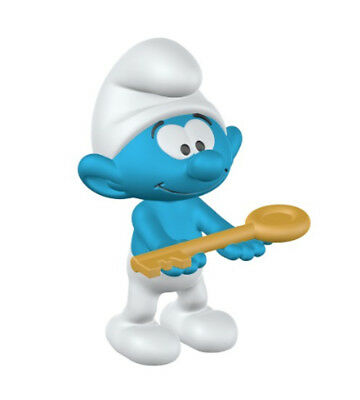 Smurf with Key Plastic Figurine 20795 FROM OCCASIONS SMURF SET