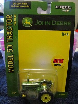 John Deere 50 Series Tractor  - Die cast Metal - 1/64 Scale