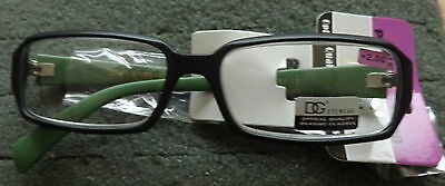 DG READING  readers  black & green    GLASSES WOMEN LADIES  MEN  +2.50  # s65 ss
