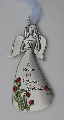 zd A sister is a forever friend angel ANGELS AMONG US Ornament Ganz special bond