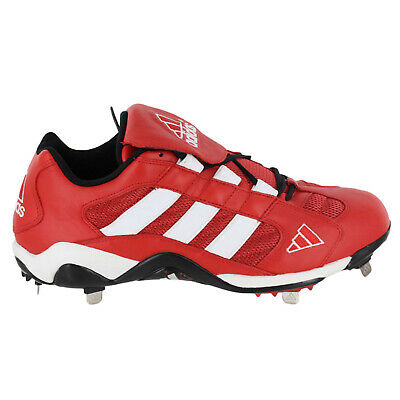 Adidas Excel Promo Lo Mens Baseball Cleats 661492-Red Sz 13
